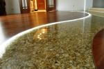 3-D наливной пол в квартире