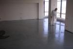 Наливной пол в офисном помещении
