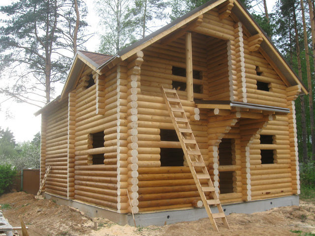 Строительство домов под ключ дома из