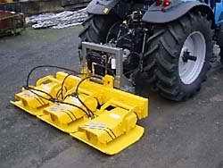 Трамбовочные пластины SBV 55 H3 для Unimog и трактора, механический привод