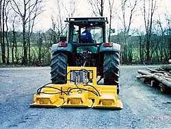 Трамбовщик SBV 55 H2, передняя и задняя навеска