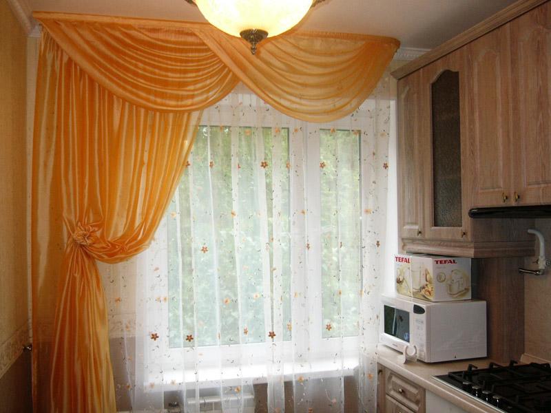 Кухонные шторки