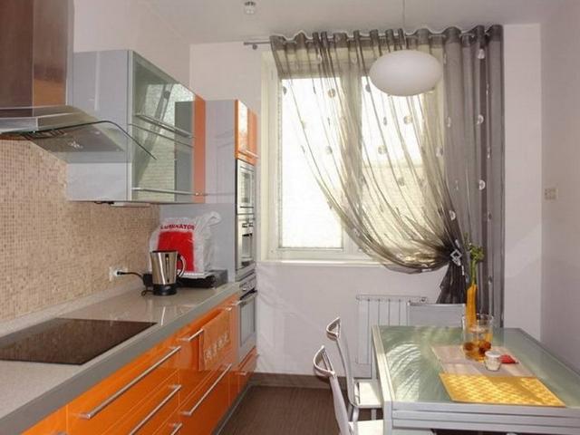 Шторы на кухню если кухня маленькая