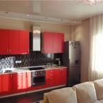 Стильные шторы для кухни фото