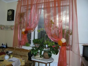Красивые шторы на кухню фото