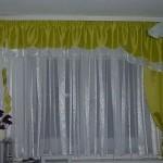 Красивые шторы на кухню своими руками фото