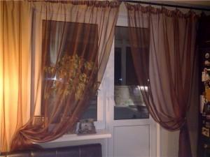 Как самим оформить окно с балконной дверью