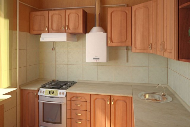 Дизайн кухни в хрущевке 5 кв. м с холодильником: http://masternpol.ru/dizajn-kuxni-v-xrushhevke-5-kv-m-s-xolodilnikom