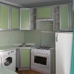 Дизайн кухни в хрущевке 6 квадратов фото