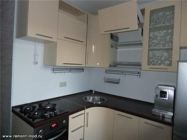 Дизайн проект кухни 5 метров с холодильником хрущевка