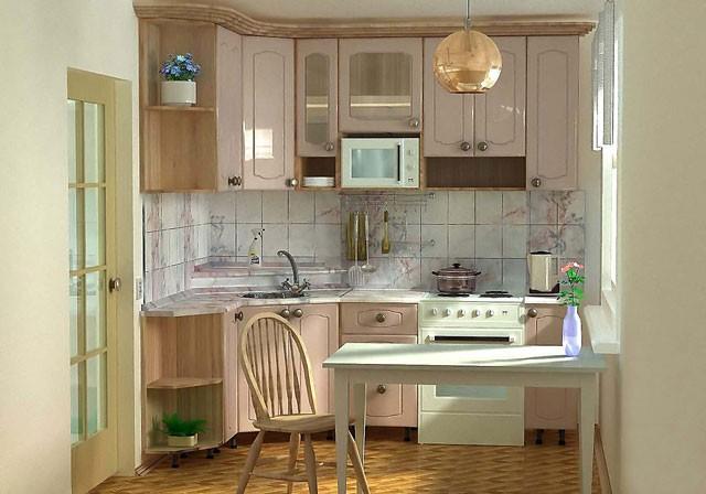 Кухня в хрущевке отличные решения