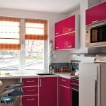 Дизайн кухни в хрущевке 5 кв.м с холодильником