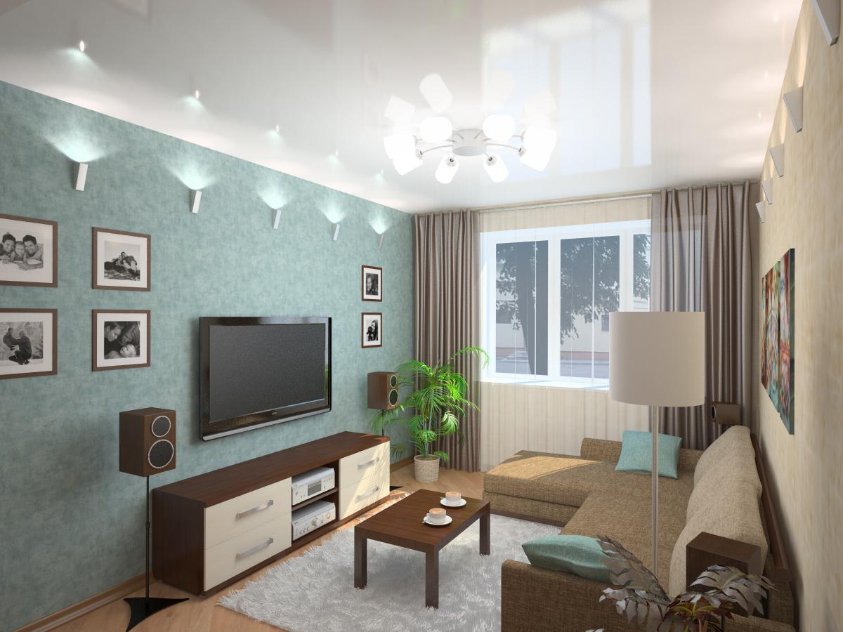 Дизайн комнаты 18 кв м гостиной