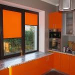 Рулонные жалюзи на пластиковые окна: фото, описание, изготовление