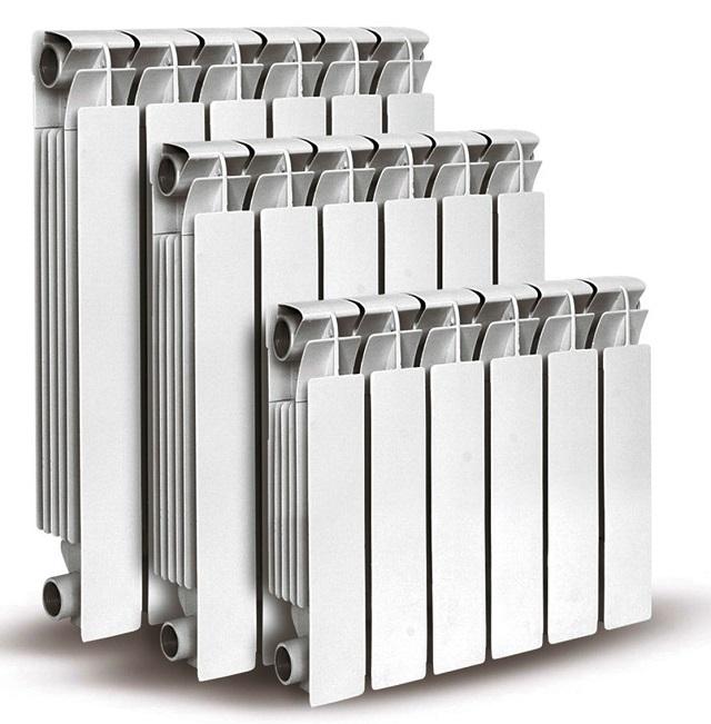 Алюминиевые отопительные батареи