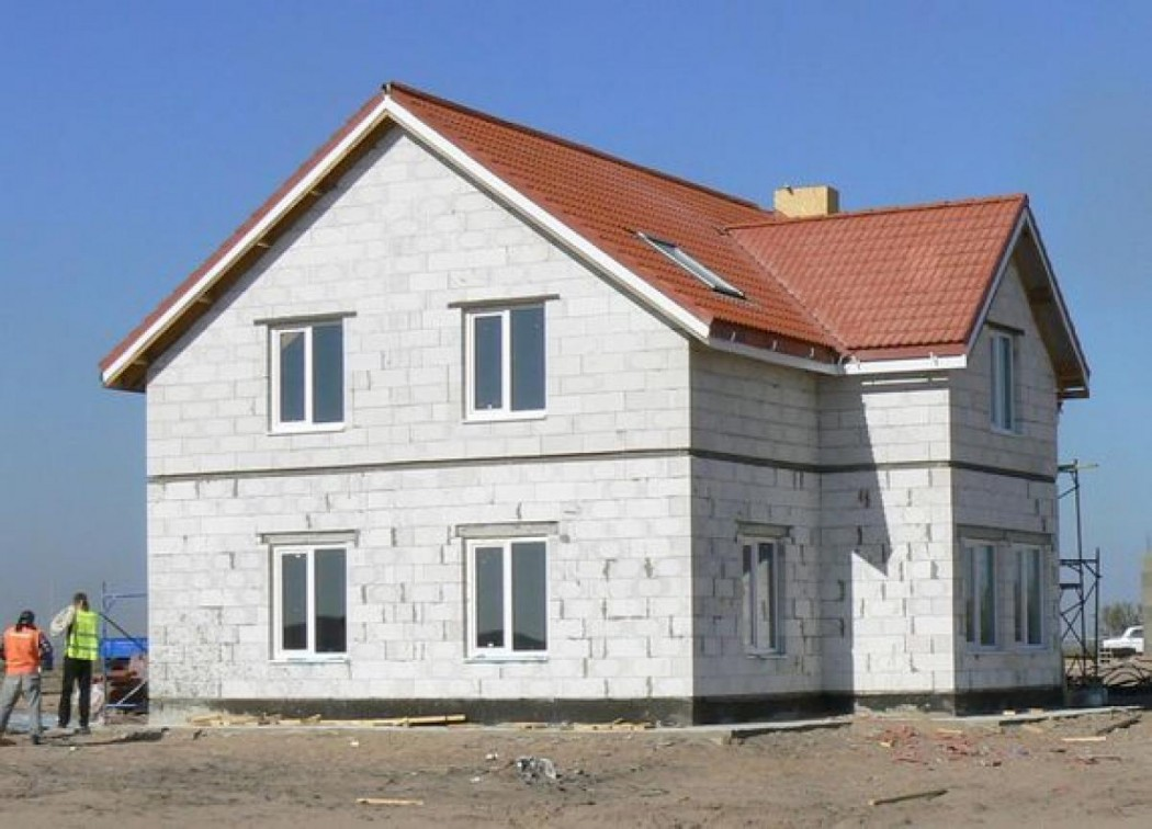 Газосиликатные блоки дома