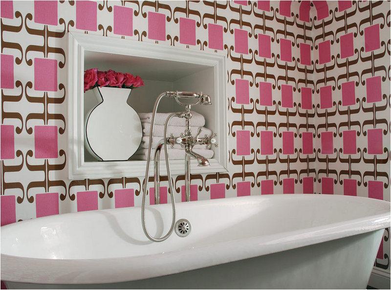 Самоклеющаяся пленка для ванной дизайн