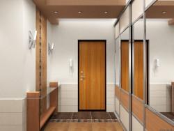 Стильная отделка коридора
