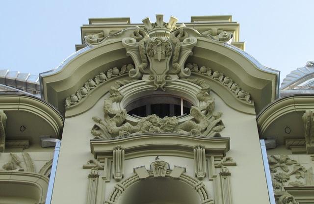 Фасадная лепнина
