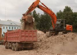 Вывоз грунта при земляных работах