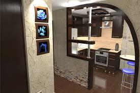Как расширить кухню за счет коридора
