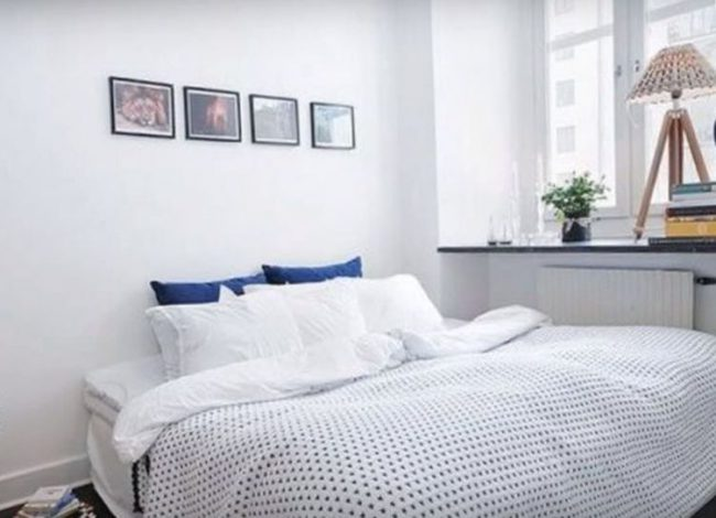 минимализм в спальне