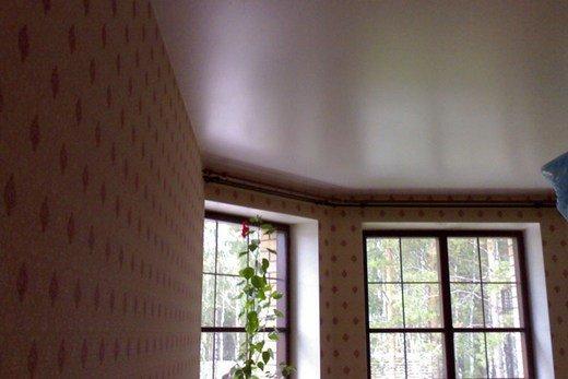 сатиновый натяжной потолок-2