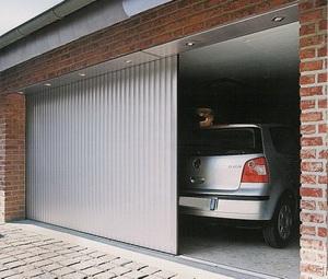 Автоматические откатные гаражные ворота