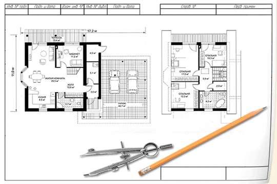 выбор проекта каркасного дома