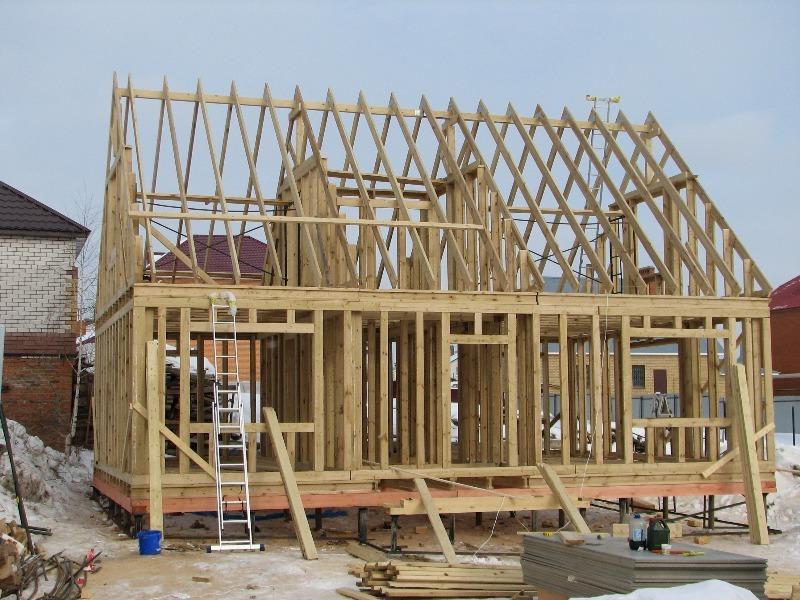 Строительство каркасного дома: от фундамента до крыши
