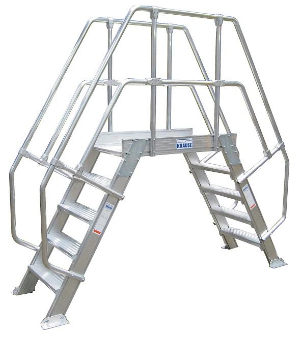 лестница с платформой