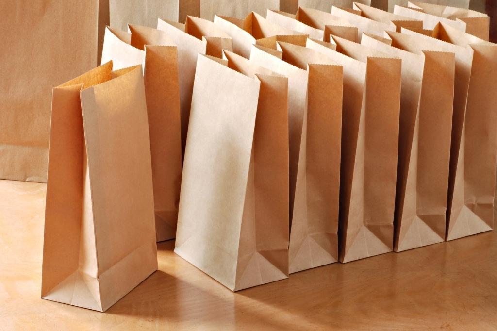 упаковка из крафт бумаги