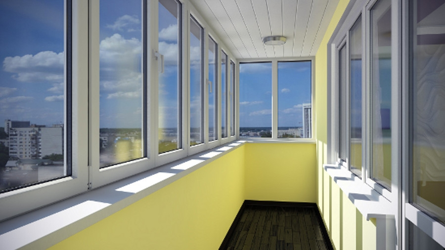 остеклекние балконов