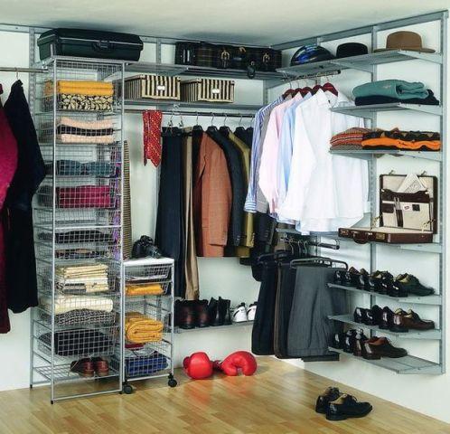 Современные гардеробные системы