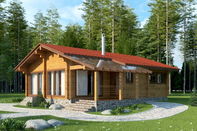 финский дом одноэтажный