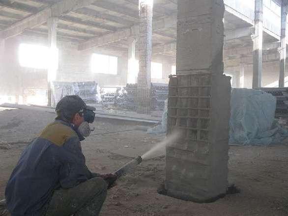 Торкретированный бетон