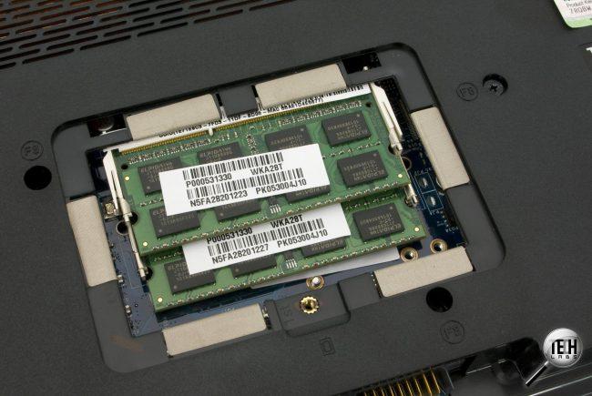оперативная память в ноутбук