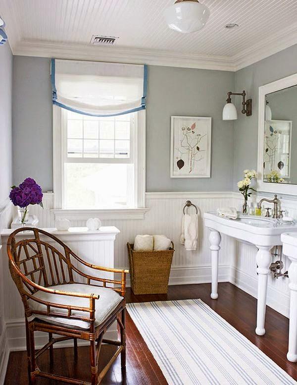 оформление ванной комнаты в американском стиле