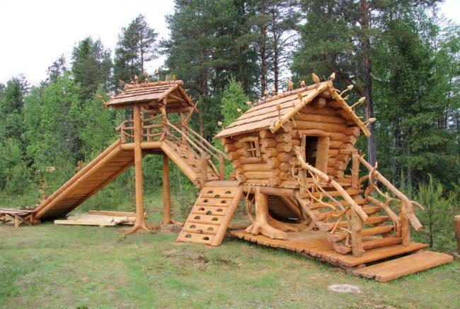 стиль детской площадки