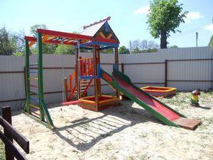 Игровой комплекс для детей на даче