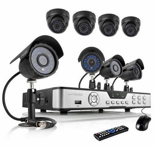 Оборудование системы видеонаблюдения
