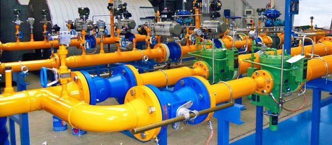 газовое оборудование для промышленности