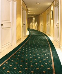 ковролин в гостинице