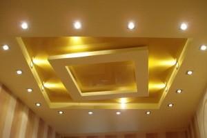 Светильники точечные на потолке