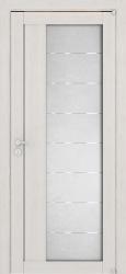 светлая дверь из экошпона