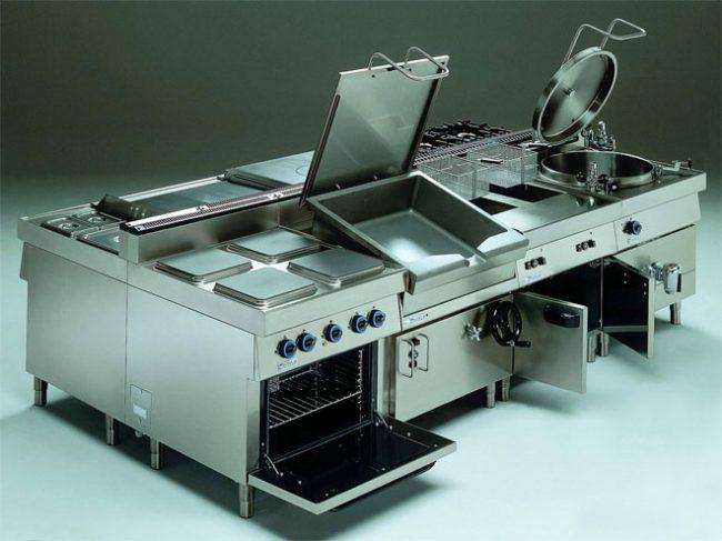 тепловое оборудование для кухни ресторана