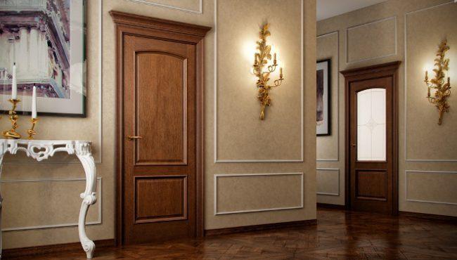 двери Волховец в интерьере